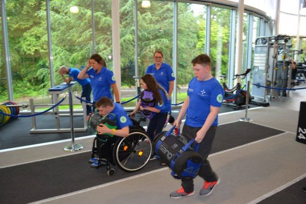 © Sports Disability Scotland summer camp